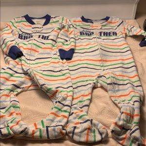 Lot of 2 Little Brother Pajamas Size 9 months